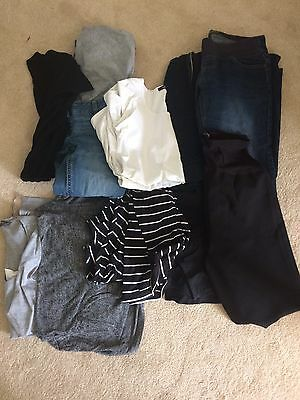 Maternity Bundle Size 8 And 10 - 10 Pieces - Great Condition