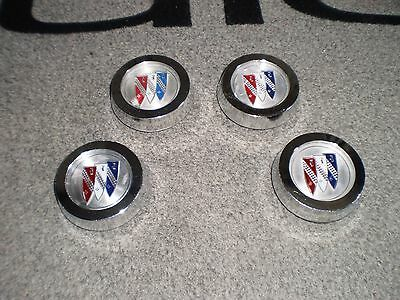 Rallye Wheel Center Caps 71-74 Buick Gs Skylark Regal Century Gran Sport 65-87