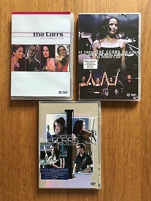 The Corrs DVDs Lansdowne Road, Royal Albert Hall & The Videos Collection 3 DVDs