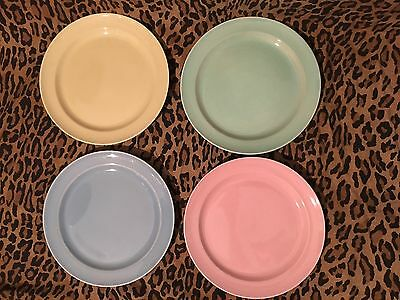 Taylor Smith Taylor LuRay Pastels Dinner Plates Set Of 4