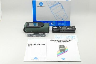 【Unused in BOX】Konica Minolta Color Meter lll F from Japan 0140N