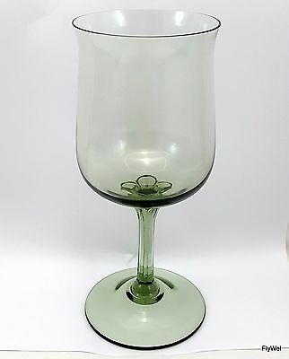 Lenox Crystal Green Mist Water Goblet 12 oz Glass Expression Collection
