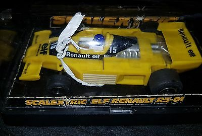 Scalextric F1 Car C134 ELF Renault RS-01 #15 Boxed Un Used