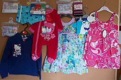 Job lot of Brand New Babies and Childrens Clothing & Accessories