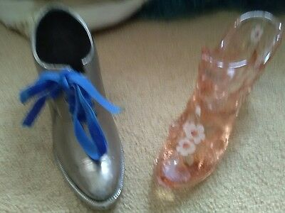 vintage shoe ornaments