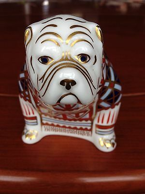 Stunning, Collectable, Royal Crown Derby Bulldog. Exc cond