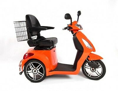 i36Deluxe -Brand New 3 Wheel Electric Mobility Scooter - Arrives Fully Assembled