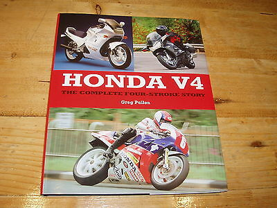 Sale Book - Honda V4-The Complete Four-Stroke Story. Was £25.00