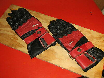 Firstgear Motorcycle Racing Gloves Leather Kevlar