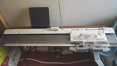 Brother chunky / bulky knitting machine KH260 with job lot of accessories