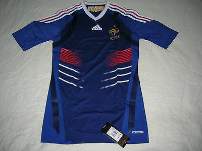 France Soccer Jersey Football TECHFIT Shirt Trikot Maglia Maillot  VERY RARE NEW
