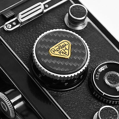 Rolleiflex   Light meter  Decorative  plug (carbon fiber)
