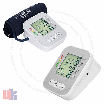 Automatic Digital Blood Pressure Monitor 180 Memory Upper Arm Intellisense UKES