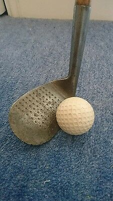 antique golf club niblick