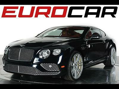 2016 Bentley Continental GT  2016 Bentley Continental GT - Stunning Fireglow Leather Interior, 5401 Miles