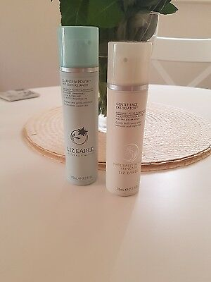 BRAND NEW Liz Earle Cleanse and Polish and Gentle Exfoliator RRP £33.00