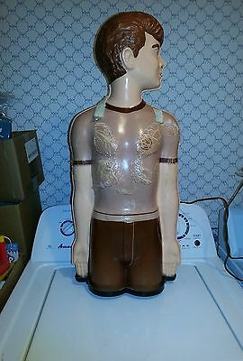 Used Countertop Medical Dummy-CPR Plastic Training Lighted Model
