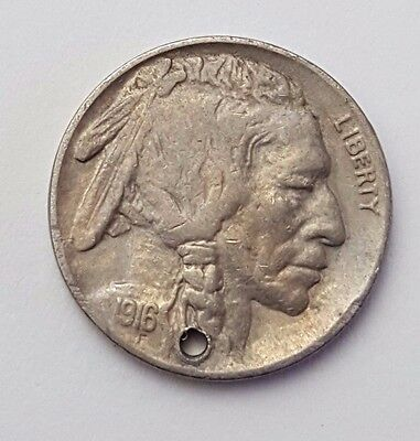 U.S.A - Liberty - Dated : 1916 - 5 Cents Coin - American Coin