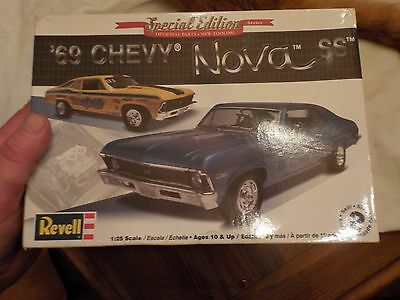 Revell Special Edition 69 Chevy Nova Ss 1/25 Scale
