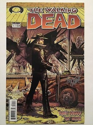 Walking Dead #1 1st Print signed by Tony Moore NM