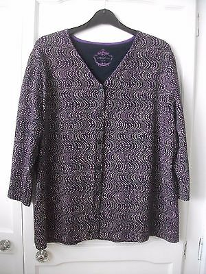 Ladies Top / Summer Cardigan Size 16/18 - Dash