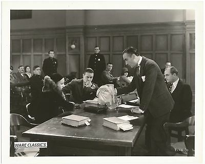 """MGM's  FRANCOISE ROSAY  1929 """"THE TRIAL OF MARY DUGAN""""  VINTAGE ORIGINAL STILL"""