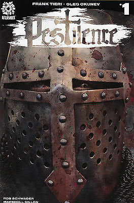 Pestilence #1 NM or better 1st print  Aftershock! Sold Out