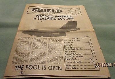 The Shield – Cfb North Bay – 1987 – Voodoo Close-Out - Paper