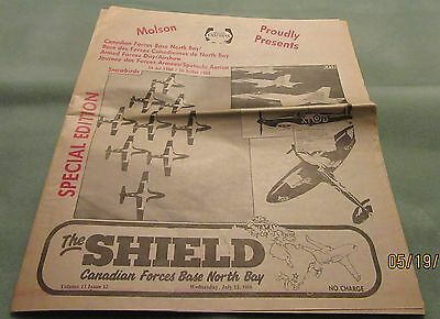 The Shield – Cfb North Bay – 1988 – Armed Forces Day - Paper