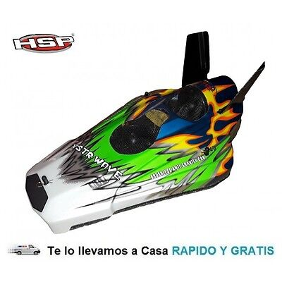 Hovercraft XSTR Brushless 1/10 2,4Ghz Coche Rc HSP 94126