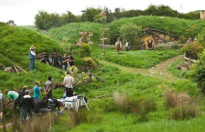 New 6 X 4 Photograph Behind The Scenes The Hobbit 1