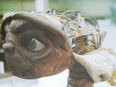 New 6 X 4 Photograph Behind The Scenes Making Of Et Extra Terrestrial