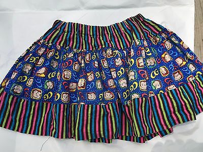 Toddler Girls Etsy Curious George Skirt 2t 3t
