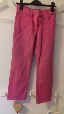 Brand new Girls Ted Baker jeans in pink. Age 8yrs.