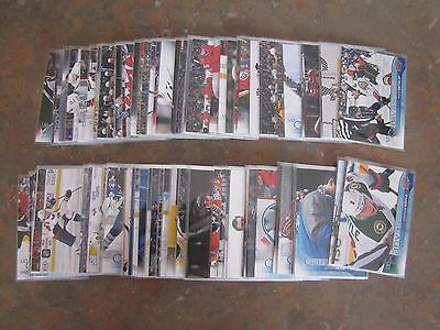 Upper Deck Series 1 One 2016-17 Complete Canvas set + Young Guns 1-120 MINT