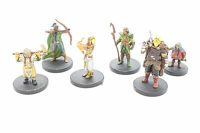 D&D Miniatures Starter Set 6 Figures Icons Of The Realms