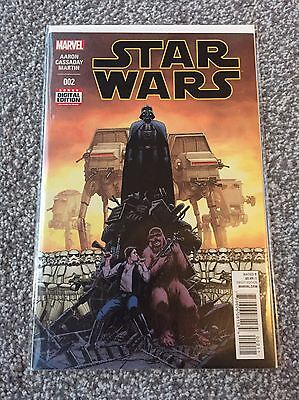 STAR WARS #2 Jason Aaron & John Cassaday 2015 Marvel Comic Book 1st Print NEW