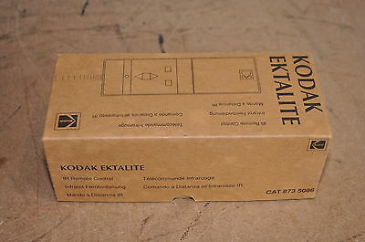 Kodak Ektalite 873 5086 Ir Remote Control Superb Condition Boxed With Manual