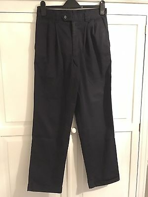 "Men's Navy Trousers From BHS 30"" Waist 31"" Inside Leg"