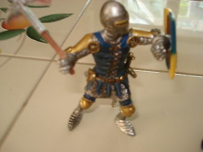 Two Knight Figures