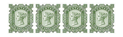 GB Victoria sg128 10 Shilling set of 4 (AA to AD) reproduction error