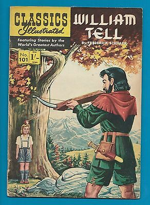 Classics Illustrated Comic Book #101 William Tell  #717