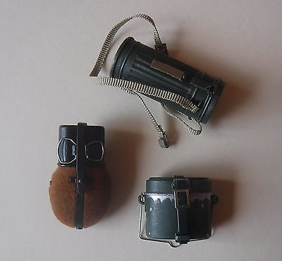 1/6 scale german Dragon gas container, canteen and mess kit (No DID)