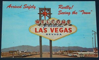 Welcome Fabulous Las Vegas, NV Postcard