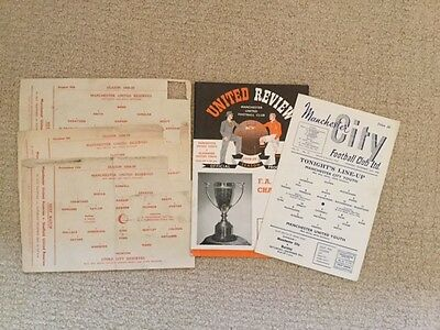 26 Manchester United Programmes All 1958-59