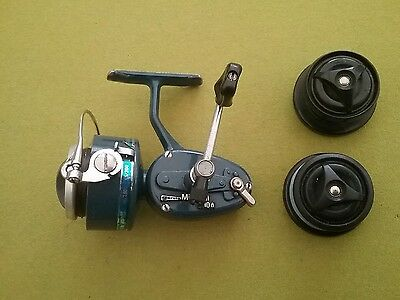 Vintage mitchell 410a blue fishing reel
