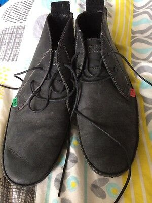Men's Designer Ankle Boots By Kickers.  Size 7uk.  Black Leather