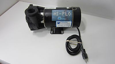 1 HP 3450 RPM, 115 Volts Above Ground Pool/Spa  Pump - Waterway Brand
