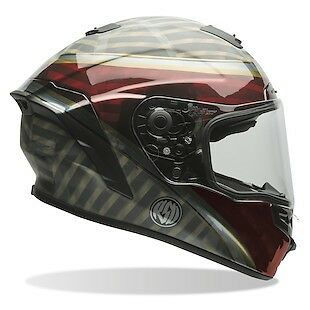 Bell Star Motorcycle Helmet Blast Red/black