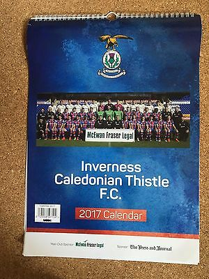 2017 Inverness Caledonian Thistle Football Club Calender